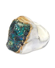 #SayItWithColor: Blue - Adina Mills Ring from #InStyle