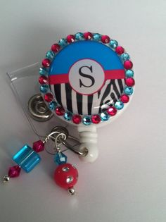 Hey, I found this really awesome Etsy listing at https://www.etsy.com/listing/233157570/nifty-bling-badge-reel