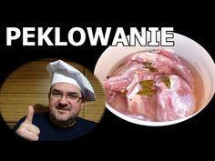 Pekluję, Wędzę, Zjadam :) cz. 1 - Peklowanie i wiązanie. - YouTube Polish Recipes, Polish Food, Kielbasa, Meatloaf, Sushi, Sausage, Grilling, Good Food, Pork