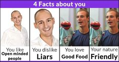 4 Facts about you