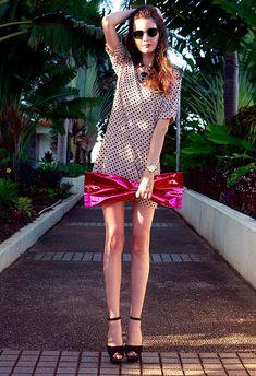 @roressclothes closet ideas #women fashion Lovely Polka Dot Dress for Summer