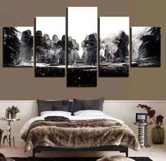 Modular Pictures Wall Art HD Prints 5 Pieces Star Wars Canvas Movie Painting Home Bedside Background Decor Modern Artwork Poster Modern Artwork, Modern Wall Art, Modern Decor, Gustav Klimt, Wall Art Pictures, Canvas Pictures, Canvas Art Prints, Canvas Wall Art, Star Wars