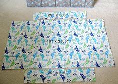 Modest Maven: Pack n' Play Sheet Tutorial - same size as mini crib mattress