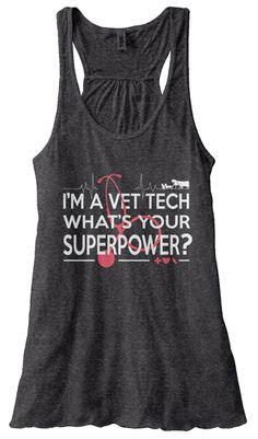 1a5b8d91174504 Vet Tech Superpower Tank! Last Day!