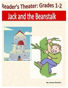 A 5 page, 6 part reader's theatre script for the folk tale Jack and the Beanstalk.  A fun script to do in the spring when many classes are growing their own beans, even if the class plants never lead to a castle. The script is written with primary students in mind and contains parts for High Emergent, Transitional and Fluent readers.  FREE