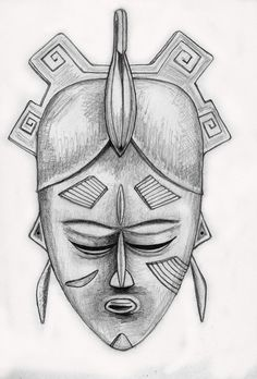 Ligbi. Mask of the Do Society by angelface888