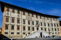 Palazzo della Carovana, en la Plaza de los Caballeros (Pisa - Italy)