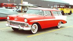 1956 Chevy Nomad. Beautiful.