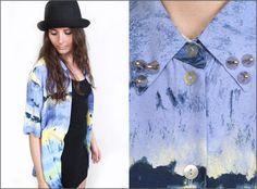 Vintage 90s Grunge Tie Dye Effect Oversized Studded Shirt Blouse        #fashion #style #vintage    http://www.ebay.co.uk/itm/Vintage-90s-Grunge-Tie-Dye-Effect-Oversized-Studded-Shirt-Blouse-Size-8-10-12-/130727281395?pt=UK_Women_s_Vintage_Clothing=item1e6ff402f3
