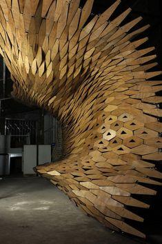 DAL Canopy Design Installation, Changsha Hunan, China by Digital Architectural Lab :: canopy shade provider