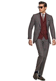 Grey Wool Check Blazer | SUITS | Pinterest | Grey, Blazers and