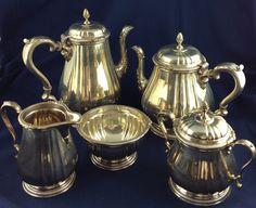 5 Piece Whitehall Sterling Silver Tea Set