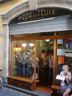 pizzeria da felice Lucca, Italy Best pizza in Italy!!!!!!!