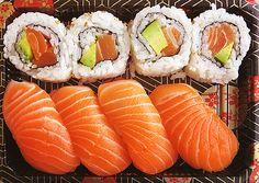 Japanese food SUSHIIIIIIIIIII