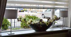 Afbeeldingsresultaat voor vensterbank decoratie modern