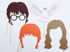 Harry Potter Birthday Party Photo Booth Props von LetsGetDecorative