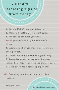 7 Mindful Parenting Tips to Start Today - The Mindful MD Mom parenting discipline care parenting teens tips parenting discipline kids discipline Conscious Parenting, Mindful Parenting, Gentle Parenting, Parenting Quotes, Kids And Parenting, Parenting Hacks, Parenting Classes, Peaceful Parenting, Parenting Styles