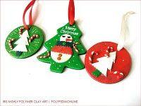 polymer clay christmas tree | Designs by Loretta: Christmas Decorations of Polymer Clay