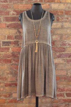 cool EMORY PARK LACE TRIM DRESS