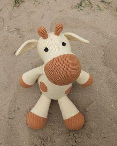 Amigurumi crochet pattern Farah Giraffe (Etsy)