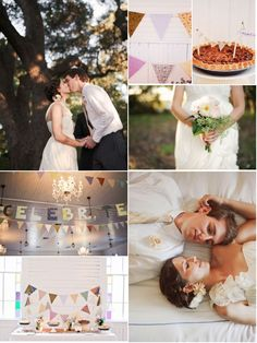 3 Ways to Bunt or Banner Your Wedding Day…