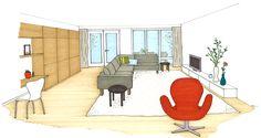 Ontwerp #Binnenkijken #Interieuradvies #Keizershoeve #ewijk #3d #verkoopbrochure #project #projectontwikkeling