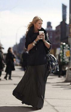 STREET STYLE: maXi skirts!!