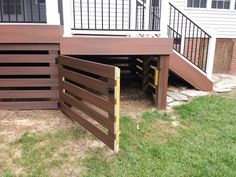 Getting The Most Out Of A Deck With Patio Designs – Pool Landscape Ideas Backyard Projects, Outdoor Projects, Backyard Patio, Front Deck, Back Patio, Patio Deck Designs, Back Deck Designs, Deck Railing Design, Deck Skirting