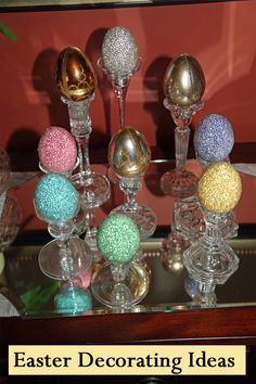 When decorating for Easter, don't just decorate with basic Easter eggs and Easter bunnies. Instead, decorate with style in classic spring colors with modern flair. Consider the following Easter decorating ideas:  Fresh FlowersEaster i...