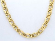 14kt Yellow Gold Double Open Link Chain 1.9 mm Width 14.0 Inch Long (2.2 Grams) by RG&D