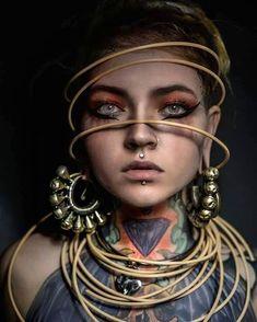 Super Tattoo Girl Portrait Gesichter 59 Ideen - Famous Last Words Tattoo Girls, Girl Tattoos, Photo Portrait, Female Portrait, Portrait Photography, Artistic Photography, Girl Face, Woman Face, Trendy Tattoos