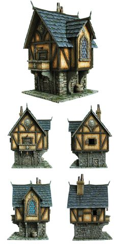 Tabletop World Merchant's House