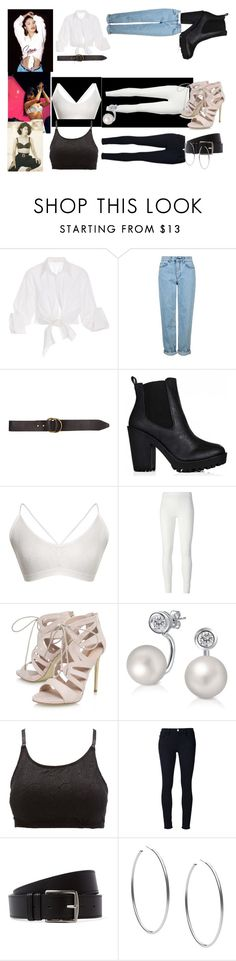 """selena quintanilla"" by lovefashionforeal ❤ liked on Polyvore featuring Johanna Ortiz, Topshop, Billabong, Rick Owens Lilies, Carvela, Bling Jewelry, Charlotte Russe, Frame Denim, Hermès and Michael Kors"