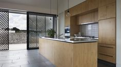 plywood and stainless steel kitchen - Google Search