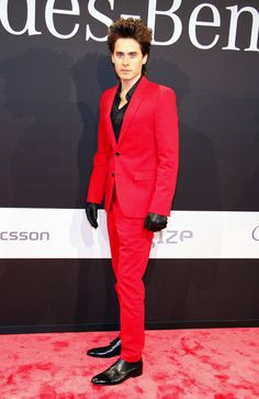 Jared Leto (red means go)