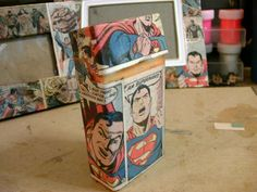 A Superman cigarette case ( yes its bad for your health but the case looks awesome!)