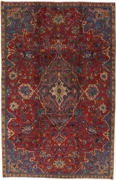Sarouk - Farahan Persian Carpet    unq2201-119   CarpetU2   152x244