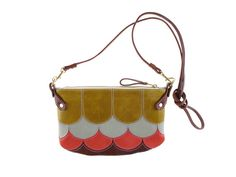 Vicious Fishes Cha Ching bag with chartreuse duck egg by missibaba
