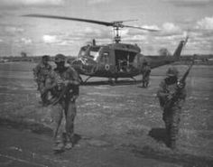 LRRPs returning from a mission ~ Vietnam War