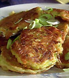 Vegetable Pancakes - because I am curious!