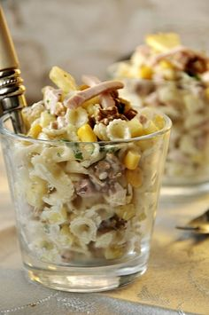 Anti Pasta Salads, Pasta Salad Recipes, Diet Recipes, Healthy Recipes, Appetizer Recipes, Appetizers, B Food, Recipe Collection, Gastronomia