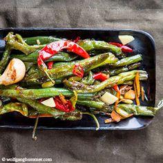 Sichuan Fisolen Green Beans, Vegetables, Food, Cooking, Recipies, Essen, Vegetable Recipes, Meals, Yemek
