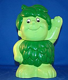 Jolly Green Giant Sprout Cookie Jar made by Benjamin & Medwin