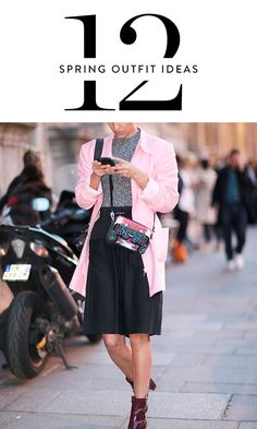 12 Spring Outfit Ideas That Will Get You Out of Your Winter Rut via @PureWow