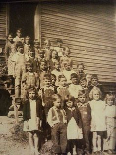 """""""1951, one room schoolhouse at Prices Creek, Burnsville, NC. Yancey County.  By  Nancy Allen Sitton, shared on Appalachian Americans"""