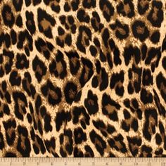 Telio Colorado Poly Faille Animal Leopard Print Fabric, Caramel, Fabric By The Yard Crepe Fabric, Wool Fabric, Fabric Design, Pattern Design, Leopard Print Fabric, Leopard Pattern, Leopard Skirt, Drip Dry, Navy And Green