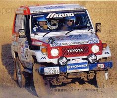 Toyota 4x4, Toyota Celica, Land Cruiser 70 Series, Trd, Rally Car, Toyota Land Cruiser, Offroad, Slot, Vehicles