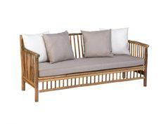 Exotan Bamboo loungebank - bamboo