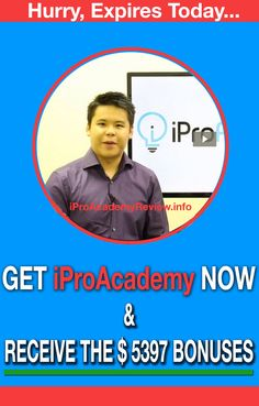 iPro Academy is THE definitive course for getting unlimited and targeted website traffic from ALL the major players — All while slashing your ad costs by ONE HALF or more and the $5397 Bonuses. iPro Academy is a structured program your list can run at their own pace. We set them up for success by providing Community, Training, Coaches, as well as Fred's own million-dollar insights.