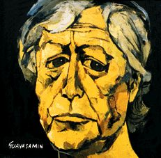 """Autorretrato, 1963. 'Me miré al espejo y empecé a pintar"""", dijo Oswaldo Guayasamín, cuando explicaba cómo había hecho su tercer autorretrato, aquel que se exhibe, ahora, en la galería """"Ufizzi"""", de Florencia."""